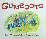 gumboots children's book by Ian Trevaskis