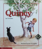 Quincy childrens' book by Ian Trevaskis
