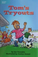Tom's Tryouts children's book by Ian Trevaskis